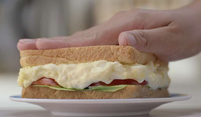 Egg Sandwich with Lady's Choice Real Mayonnaise
