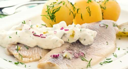 Dill Mayo on Fish