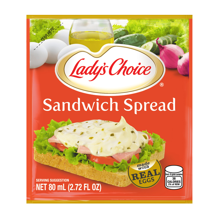 sandwich spead 80ml pouch