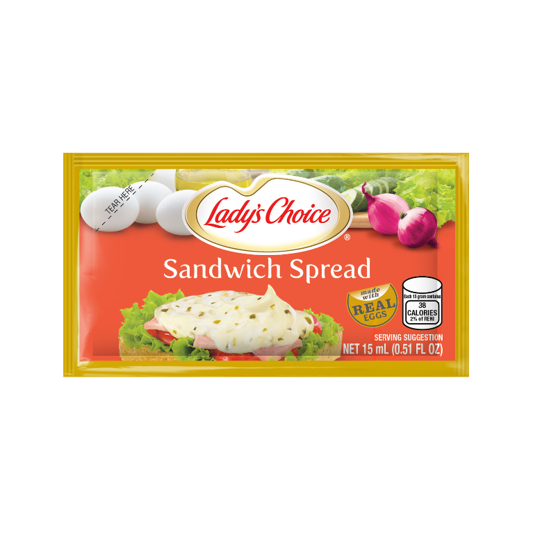 sandwich spread 15ml sachet