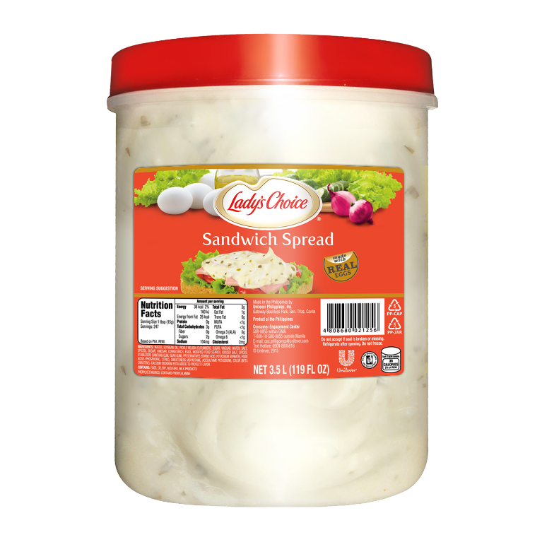 sandwich spread 3.5l tub