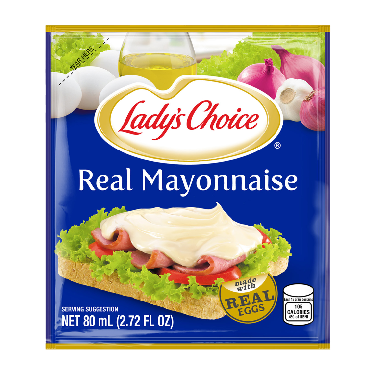 Lady's Choice Real Mayonnaise 80ml Pouch