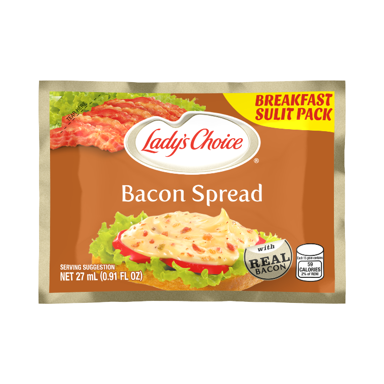 bacon 27ml sachet