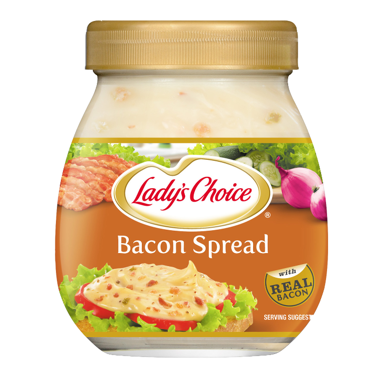 bacon 470ml jar